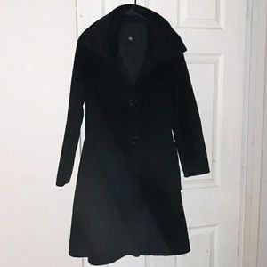 Gorgeous black Armani jeans coat, like new